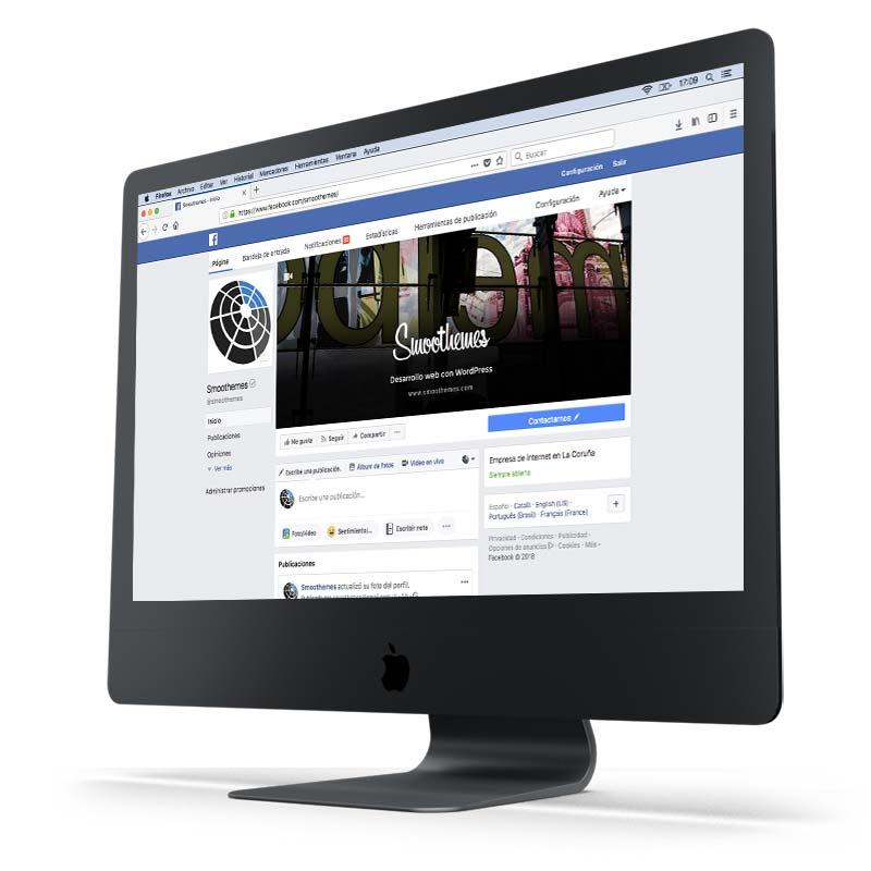 Posicionamiento Web Coruña SEM Facebook