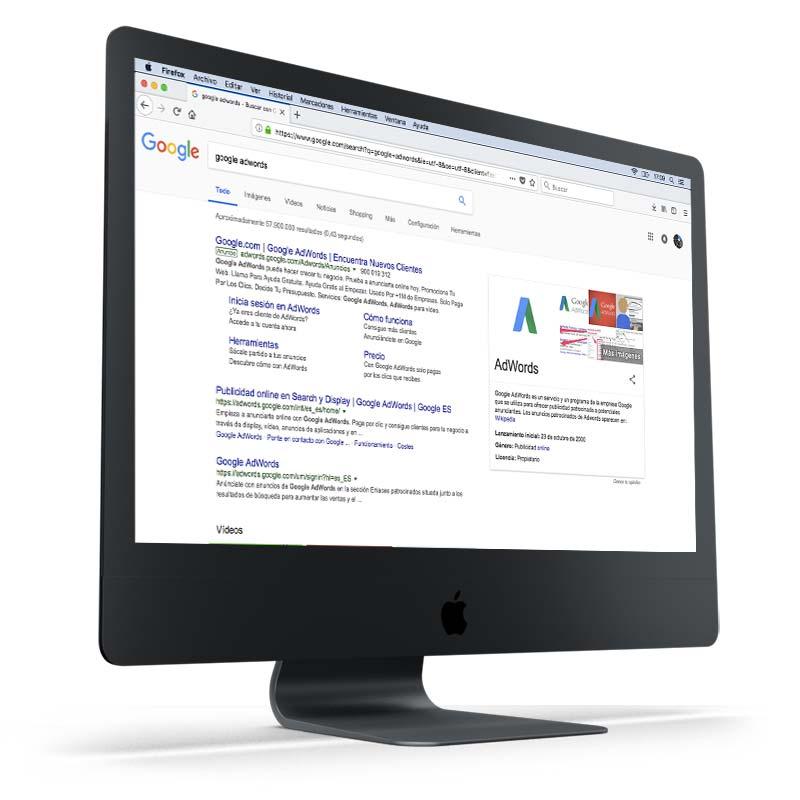 Posicionamiento Web Coruña SEM Google