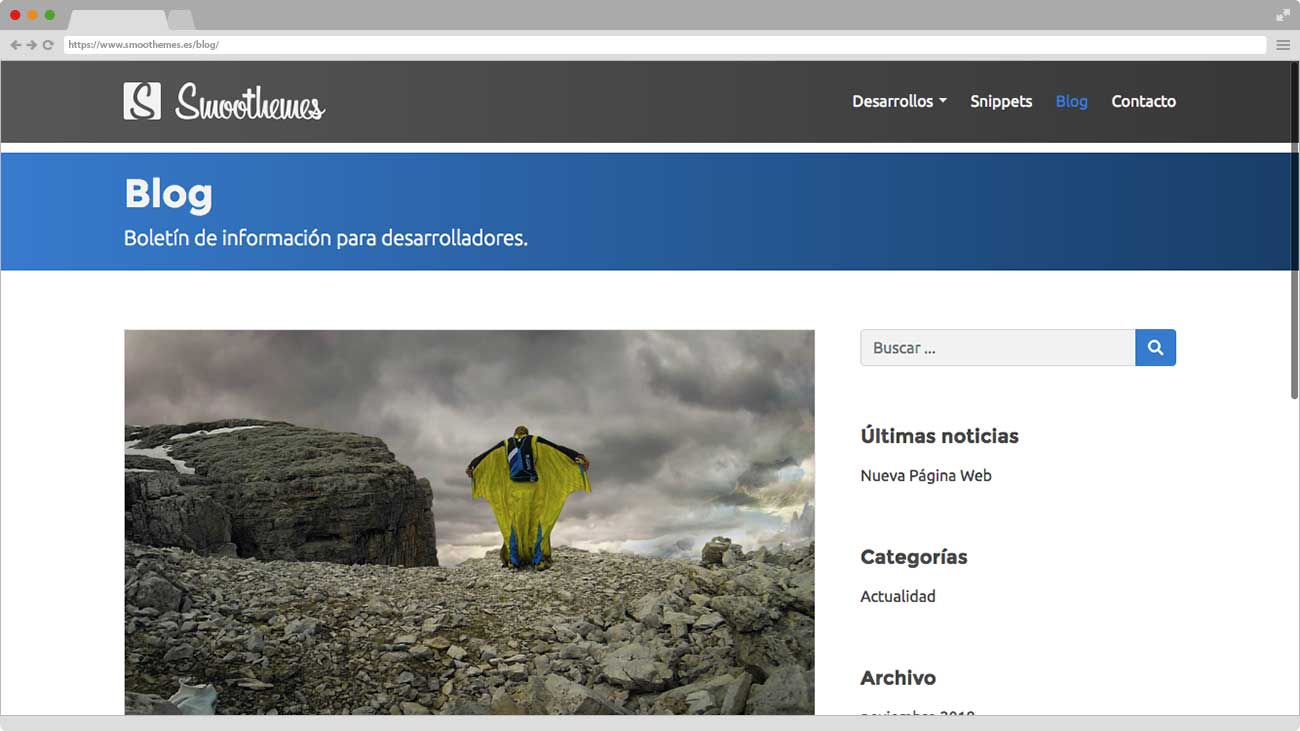 Smoothemes nueva Web Blog