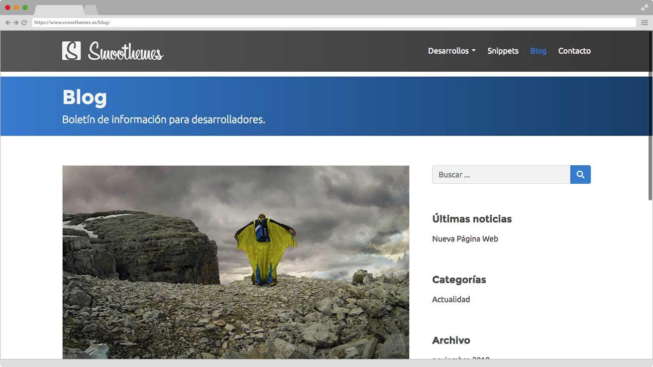Smoothemes nueva Web Blog