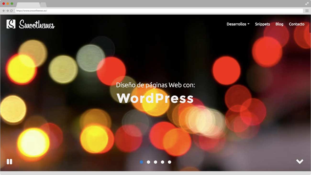 Smoothemes nueva Web Home